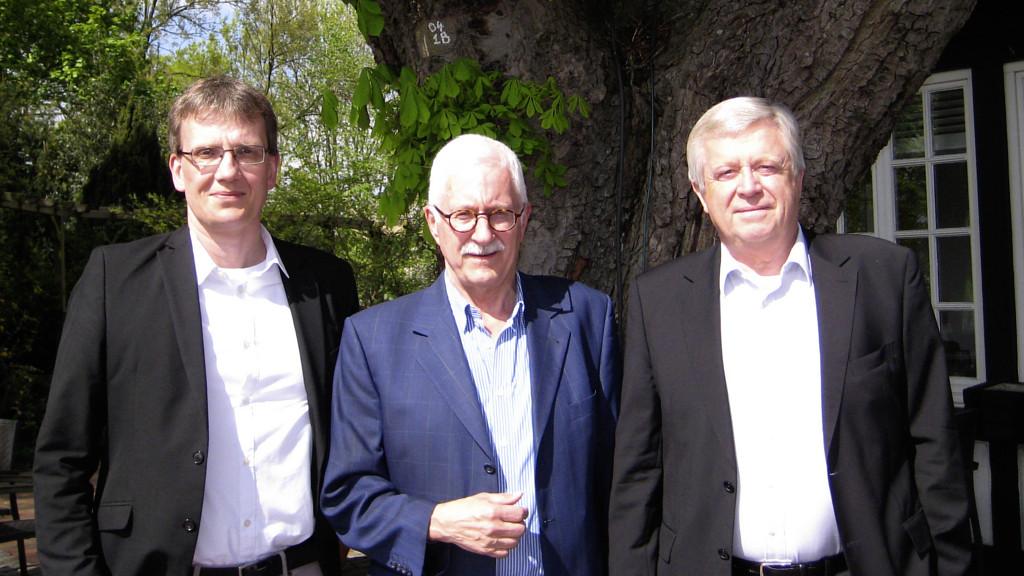 Das Team der HEIMAN-Stiftung: Hans-Peter Keck, Manfred Kröger und Jürgen Burhop
